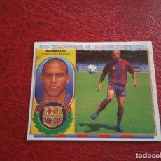 Cromos de Fútbol: RONALDO BARCELONA ED ESTE 96 97 CROMO FUTBOL LIGA 1996 1997 - 1515 RECORTADO VERSION . Lote 174427579