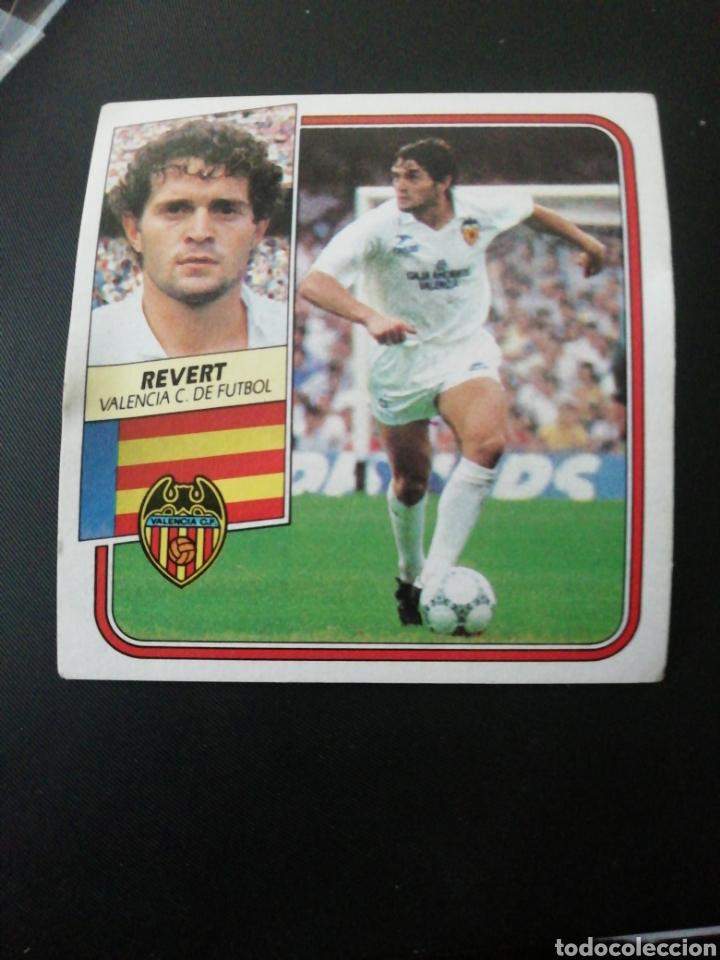 REVERT (VALENCIA) ESTE 89/90,BAJA.NUNCA PEGADO (Coleccionismo Deportivo - Álbumes y Cromos de Deportes - Cromos de Fútbol)
