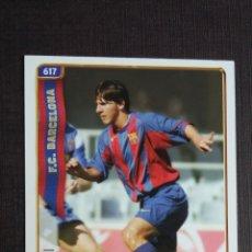 Cromos de Fútbol: MUNDICROMO LIGA 2004 2005 04 05 - 617 MESSI - FC. BARCELONA - ROOKIE CARD. Lote 174471172