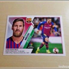 Cromos de Fútbol: LIGA ESTE 2019 2020 19 20 PANINI LEO MESSI Nº 14 FC BARCELONA CROMO ALBUM FÚTBOL. Lote 174499575