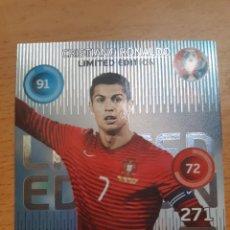 Cromos de Fútbol: ADRENALYN XL EURO 2016 FRANCIA LIMITED EDITION. Lote 174500240