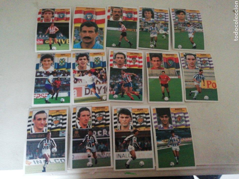 14 CROMOS ESTE 90/91 TODOS DIFERENTES, NUNCA PEGADOS (Coleccionismo Deportivo - Álbumes y Cromos de Deportes - Cromos de Fútbol)