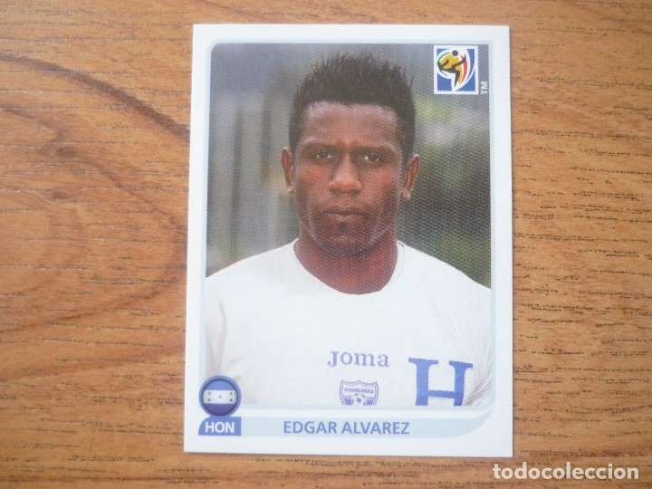 Panini WORLD CUP 2010-Edgar Alvarez Honduras no 614