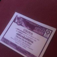 Cromos de Fútbol: ESTE 2000 2001 VILLARREAL ARRUABARRENA COLOCA 00 01. Lote 174524750
