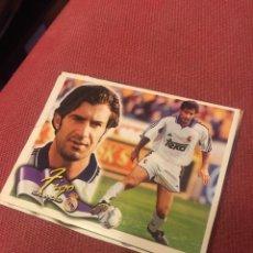 Cromos de Fútbol: ESTE 00 01 2000 2001 FIGO REAL MADRID COLOCA VENTANILLA. Lote 174529007