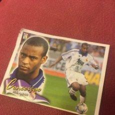 Cromos de Fútbol: ESTE 2000 2001 00 01 REAL MADRID CONCEICAO COLOCA VENTANILLA VER FOTO. Lote 174529149