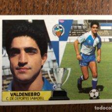 Cromos de Fútbol: ESTE 1987-1988 VALDENEBRO COLOCA SABADELL 87-88 NUNCA PEGADO SIN PEGAR. Lote 174704344