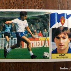 Cromos de Fútbol: ESTE 1986-1987 ABAD COLOCA ZARAGOZA 86-87 DESPEGADO. Lote 174707537