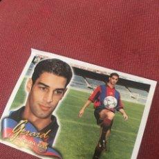 Cromos de Fútbol: ESTE 2000 2001 00 01 BARCELONA GERARD VENTANILLA COLOCA MUY DIFÍCIL. Lote 174981927