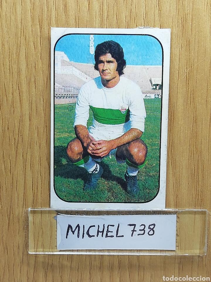 ESTE LIGA 76 /77... INDIO... ELCHE.. RECUPERADO... (Coleccionismo Deportivo - Álbumes y Cromos de Deportes - Cromos de Fútbol)