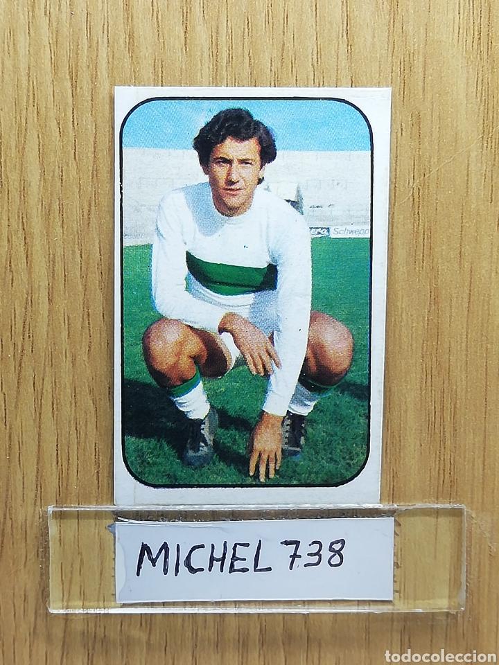 ESTE LIGA 76 /77... JUAN.. ELCHE... RECUPERADO... (Coleccionismo Deportivo - Álbumes y Cromos de Deportes - Cromos de Fútbol)