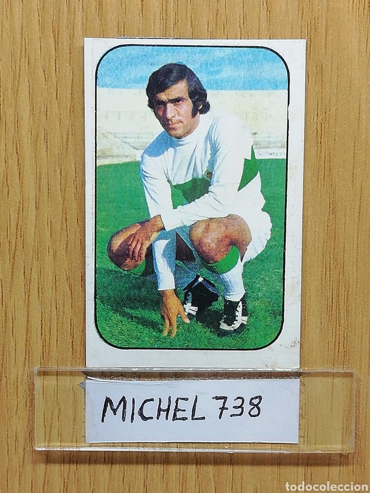 ESTE LIGA 76 /77.. MELENCHON.. ELCHE... RECUPERADO... (Coleccionismo Deportivo - Álbumes y Cromos de Deportes - Cromos de Fútbol)