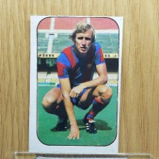 Cromos de Fútbol: ESTE LIGA 76 /77... REXACH.. BARCELONA... RECUPERADO... Lote 175070565