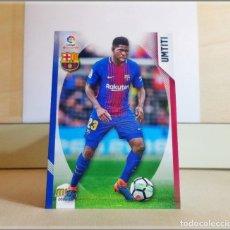 Cromos de Fútbol: MEGACRACKS 2018 2019 18 19 PANINI. UMTITI Nº 88 (FC BARCELONA) CROMO LIGA FÚTBOL MEGA CRACKS MGK. Lote 175141359