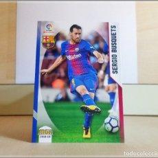 Cromos de Fútbol: MEGACRACKS 2018 2019 18 19 PANINI. SERGIO BUSQUETS Nº 93 (FC BARCELONA) CROMO FÚTBOL MEGA CRACKS MGK. Lote 175141587
