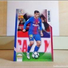 Cromos de Fútbol: MEGACRACKS 2018 2019 18 19 PANINI. COUTINHO Nº 97 (FC BARCELONA) CROMO LIGA FÚTBOL MEGA CRACKS MGK. Lote 175141684