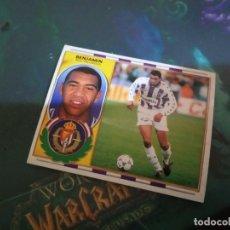 Cromos de Fútbol: BENJAMIN VALLADOLID ED ESTE 96 97 CROMO FUTBOL LIGA 1996 1997 - SIN PEGAR - 600. Lote 195544985