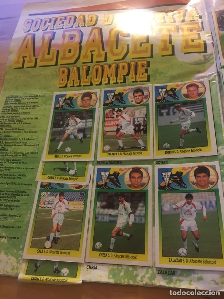 Cromos de Fútbol: Album increíble 93 94 1993 1994 liga este a falta 8 cromos. - Foto 2 - 121380324
