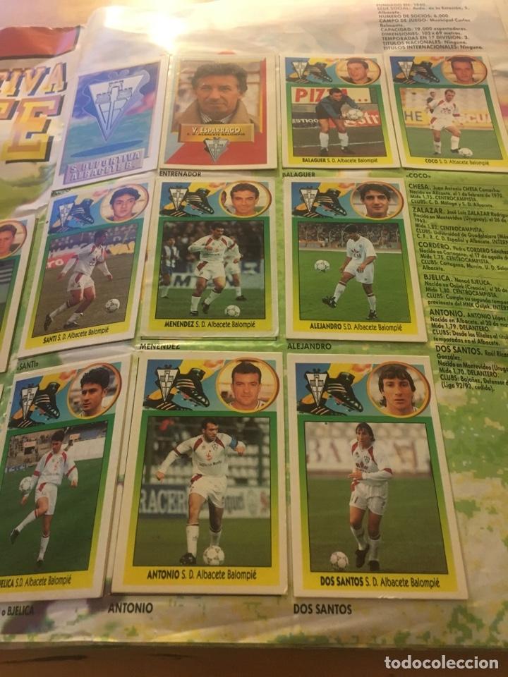 Cromos de Fútbol: Album increíble 93 94 1993 1994 liga este a falta 8 cromos. - Foto 3 - 121380324