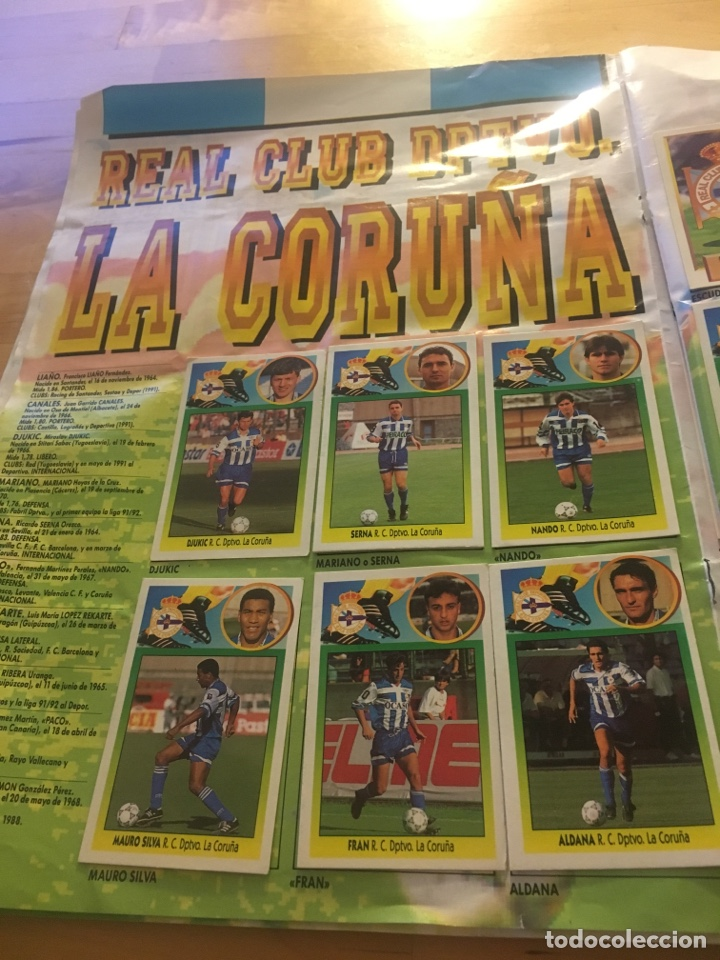 Cromos de Fútbol: Album increíble 93 94 1993 1994 liga este a falta 8 cromos. - Foto 10 - 121380324