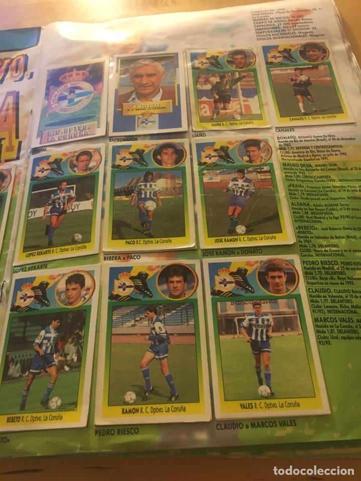 Cromos de Fútbol: Album increíble 93 94 1993 1994 liga este a falta 8 cromos. - Foto 11 - 121380324