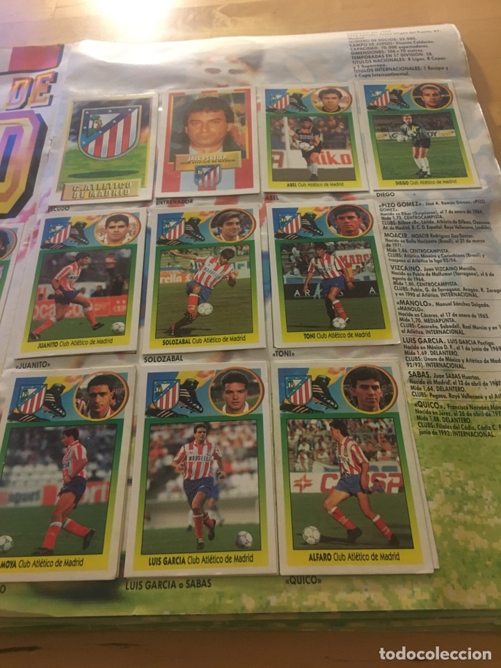 Cromos de Fútbol: Album increíble 93 94 1993 1994 liga este a falta 8 cromos. - Foto 18 - 121380324