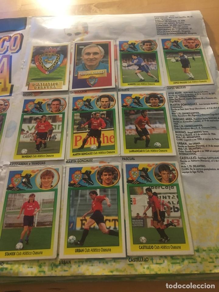 Cromos de Fútbol: Album increíble 93 94 1993 1994 liga este a falta 8 cromos. - Foto 22 - 121380324