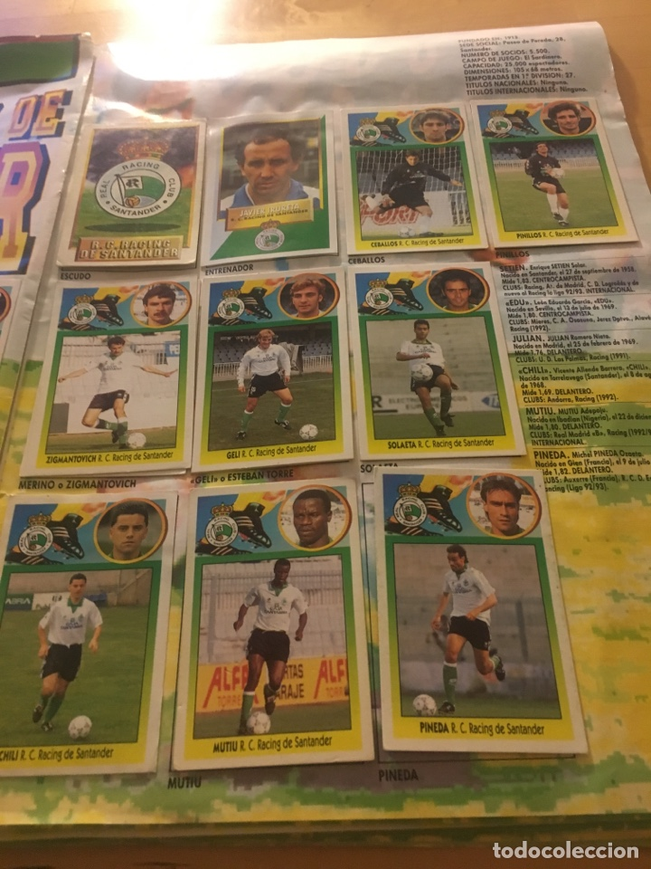 Cromos de Fútbol: Album increíble 93 94 1993 1994 liga este a falta 8 cromos. - Foto 29 - 121380324
