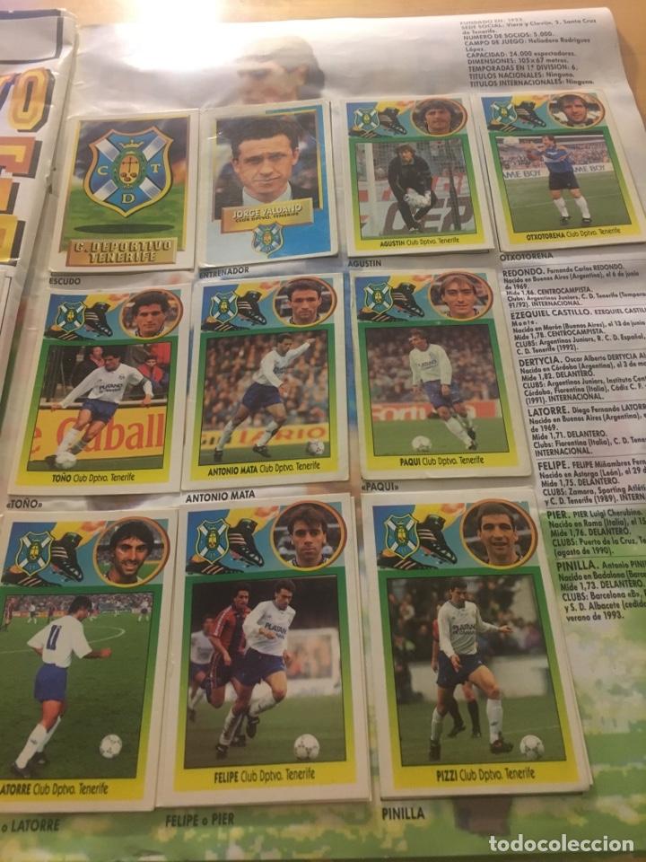 Cromos de Fútbol: Album increíble 93 94 1993 1994 liga este a falta 8 cromos. - Foto 35 - 121380324