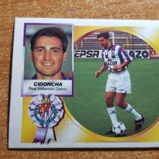 Cromos de Futebol: CIDONCHA COLOCA DEL VALLADOLID ALBUM ESTE LIGA 1994 - 1995 ( 94 - 95 ). Lote 223060883