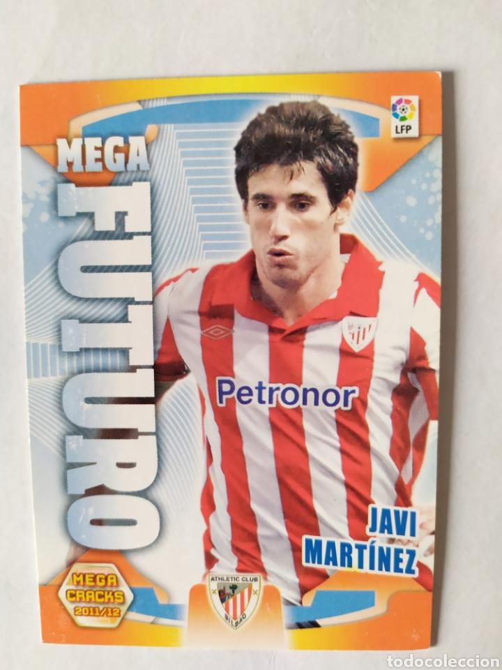 MEGACRACKS 2011 2012 PANINI JAVI MARTÍNEZ FUTURO Nº 417 ATHLETIC BILBAO (Coleccionismo Deportivo - Álbumes y Cromos de Deportes - Cromos de Fútbol)