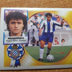 Cromos de Futebol: MENDIONDO DEL ESPAÑOL ESPANYOL ALBUM ESTE LIGA 1994 - 1995 ( 94 - 95 ). Lote 175329473