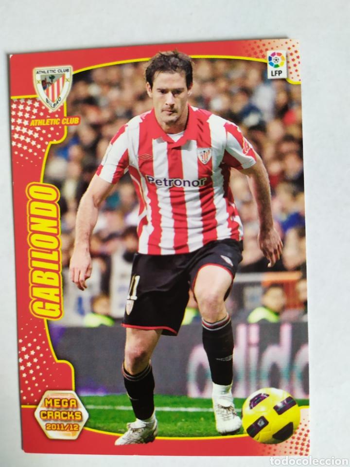 MEGACRACKS 2011 2012 PANINI GABILONDO Nº 13 ATHLETIC BILBAO (Coleccionismo Deportivo - Álbumes y Cromos de Deportes - Cromos de Fútbol)