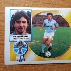 Cromos de Fútbol: URIBARRENA COLOCA CELTA DE VIGO ALBUM ESTE LIGA 1994 - 1995 ( 94 - 95 ). Lote 175332493