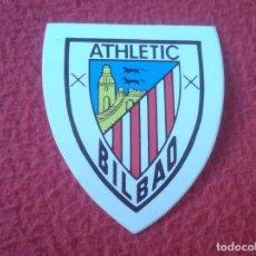Cromos de Fútbol: CROMO PEGATINA ADHESIVO STICKER TROQUELADO AÑOS 80 90 ESCUDO FÚTBOL CLUB ATHLETIC DE BILBAO SOCCER. Lote 175386757