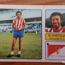 Cromos de Fútbol: CROMO DE FUTBOL 1973/74, FHER: ULTIMO FICHAJE Nº 10: M. CASTILLO (GRANADA). EN BUEN ESTADO.. Lote 175524825