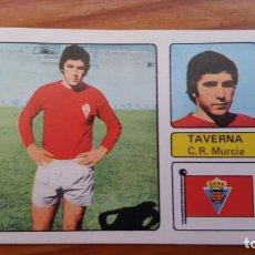 Cromos de Fútbol: CROMO DE FUTBOL 1973/74, FHER: ULTIMO FICHAJE Nº 11: TAVERNA (MURCIA). EN BUEN ESTADO.. Lote 175525215
