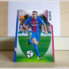 Cromos de Fútbol: MEGACRACKS 2018 2019 18 19 PANINI. ALCACER Nº 102 ERROR (FC BARCELONA) CROMOS LIGA FÚTBOL MGK. Lote 175535003
