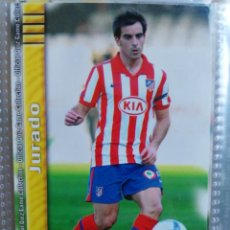 Cromos de Fútbol: MUNDICROMO FICHAS LIGA FUTBOL QUIZ GAME 2009 2010 09 10 AT. MADRID Nº 92 JURADO . Lote 175550232