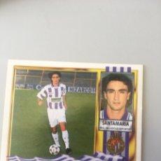 Cromos de Futebol: ESTE 95 96 1995 1996 SIN PEGAR SANTAMARÍA PARQUESOL COLÓCA VALLADOLID. Lote 175683365