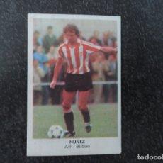 Cromos de Fútbol: NUÑEZ DEL ATHLETIC DE BILBAO ALBUM CROMOS CANO LIGA 1983 - 1984 ( 83 - 84 ). Lote 269751168