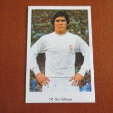 Cromos de Fútbol: NUEVO - CROMO RUIZ ROMERO 72 - 73 Nº 10 SANTILLANA CROMOS CAMPEONATO LIGA 1972 - 1973. Lote 175736017