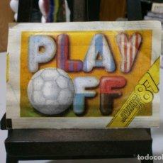Cromos de Fútbol: SOBRE SIN ABRIR PLAY OFF COLECCIONA LOS MEJORES DEL 87. Lote 223315981