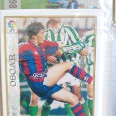 Cromos de Fútbol: MUNDICROMO 1997-98 F.C. BARCELONA Nº 37 OSCAR. Lote 175740244
