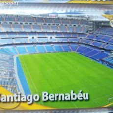 Cromos de Fútbol: FICHAS LIGA 2010-11 REAL MADRID MUNDICROMO 2010 -2011 Nº 29 SANTIAGO BERNABEU. Lote 175747029