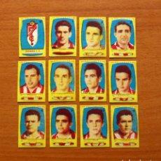 Cromos de Fútbol: GRANADA 2ª DIVISIÓN - EQUIPO COMPLETO - AZAFRÁN POLLUELOS 1954-1955, 54-55 - NOVELDA - NUNCA PEGADOS. Lote 175783908