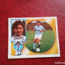 Cromos de Fútbol: URIBARRENA CELTA ED ESTE 94 95 CROMO FUTBOL LIGA 1994 1995 - RECORTADO - 1540 COLOCA. Lote 175822537