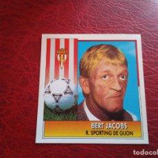 Cromos de Fútbol: BERT JACOBS SPORTING GIJON ESTE 92 93 CROMO FUTBOL LIGA 1992 1993 - DESPEGADO - 1099. Lote 175828300