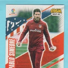 Cromos de Fútbol: MEGACRACKS 17/18 DIEGO PABLO SIMEONE 77. Lote 175832579