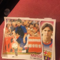 Cromos de Fútbol: ESTE 2004 2005 04 05 MESSI COLOCA BARCELONA. Lote 176014803